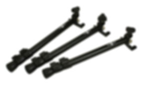 The Black Swamp Percussion Multilegs™ will fit on any bass drum for a horizontal mounting position.