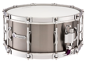 "Dynamicx Drums® by Black Swamp Percussion are drumset style snare drums that are handcrafted into a sonically and visually superior musical instument. This drum is a Dynamicx® Sterling Series™ 6.5"" x 14"" Genuine Titanium™."