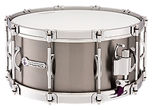 Black Swamp Percussion Dynamicx Snare Drums are drumset style snare drums made with the finest titanium and solid steam bent shells.
