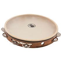 T12-3 German Silver Tambourine