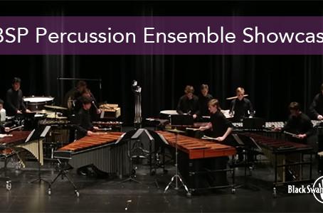 BSP Percussion Ensemble Showcase