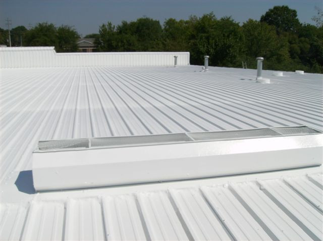 Duracool Coating Application on Commercial Center