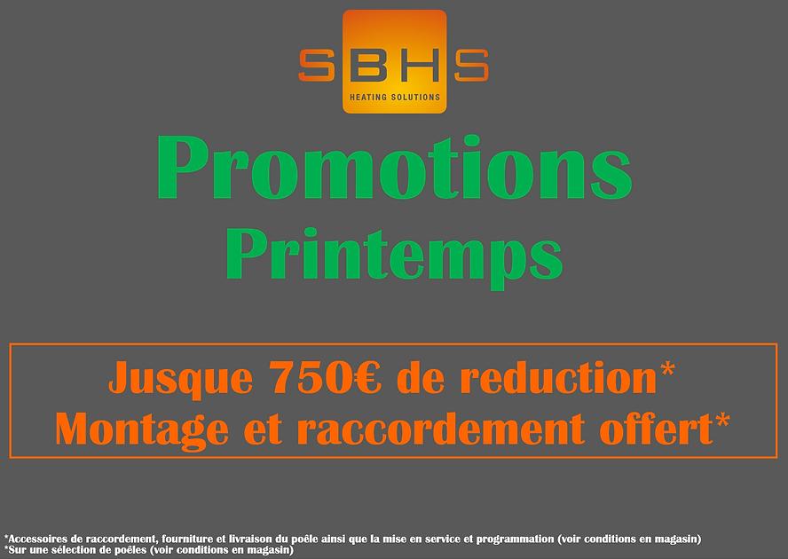 Promotions printemps