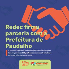 Redec firma parceria com a Prefeitura de Paudalho