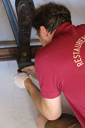 Restaurierung von Ausstattung der Residenz Bamberg 2020