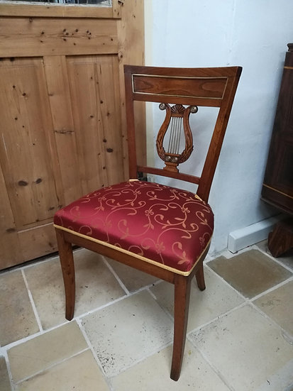 Stuhl 18.Jahrhundert, Ulme