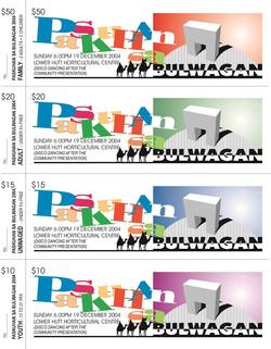 Bulwagan Fundraising December 2004 Tickets