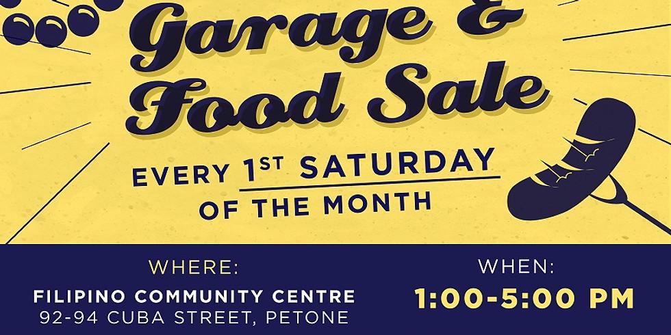 Garage and Food Sale