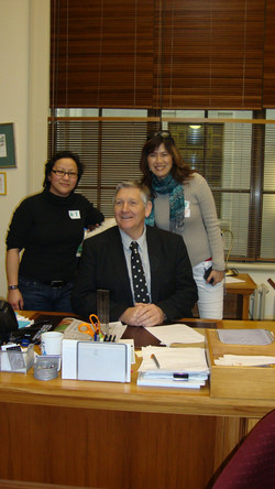 Visitng MP Eric Roy
