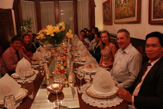 Dinner Meeting for the Loboc Children's Choir Concert 12