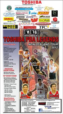 Toshiba PBAL 2012  Poster - Wellington