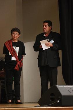 Flora Nogoy and Butch Bradley