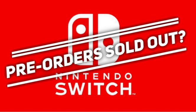 Nintendo Switch Sold Out at GameStop