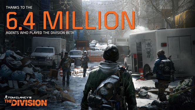 Ubisoft Division Record Breaking Beta