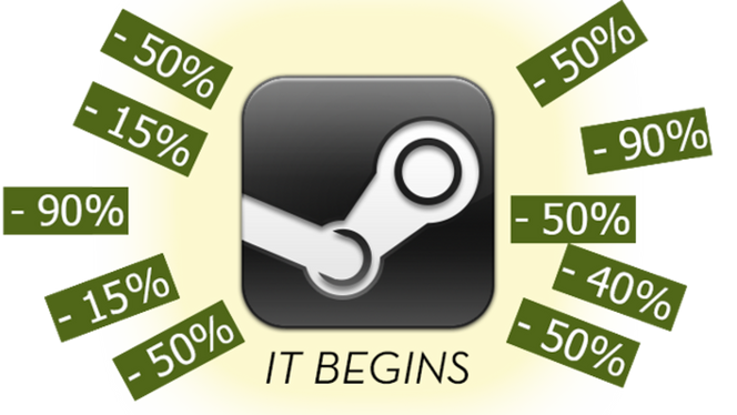 Steam Sales Rumored to Start November 23