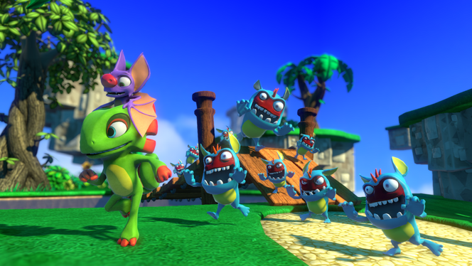 People are mad about Yooka Laylee for Not coming out on the Switch at launch.