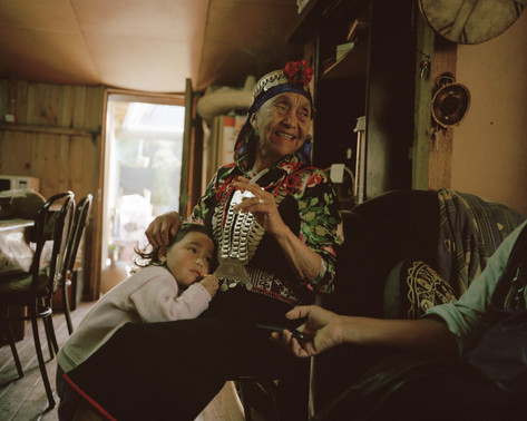 Mapuche, Wallmapu, Chile, Südamerika, Southamerica, Maria Pinda