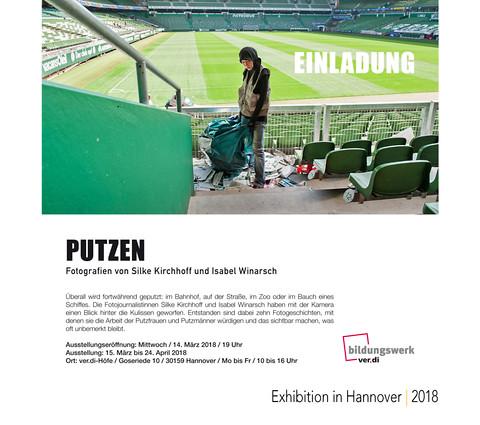 PUTZEN Fotoaussttellung Hannover