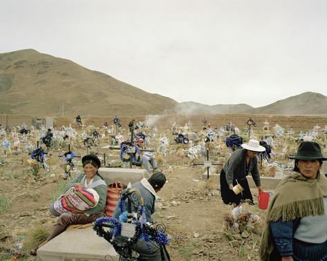 Cemetery of Huanuni
