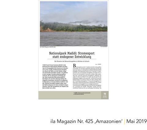 ila Magazin Amazonien Bolivien