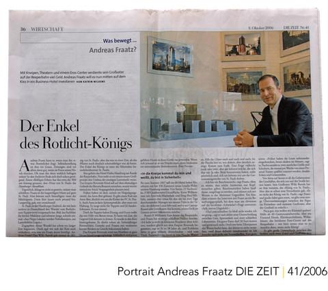 DIE ZEIT Portrait Andreas Fraatz