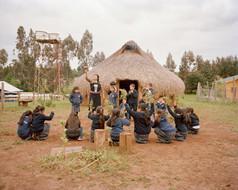 Mapuche, Wallmapu, Chile, Südamerika, Southamerica, interkulturelle Schule, Ruka, Schülerinnen