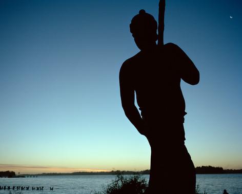 Mapuche, Wallmapu, Chile, Südamerika, Southamerica, sunset