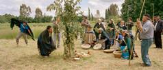 Mapuche, Wallmapu, Chile, Südamerika, Southamerica, Choyke Purun Tanz