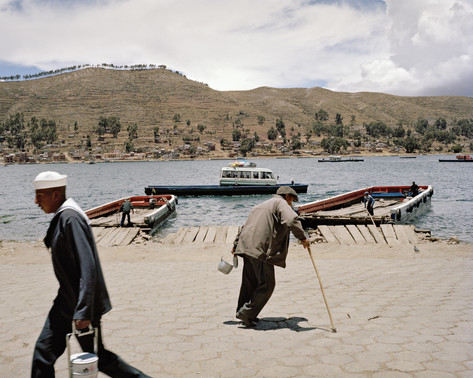 Tiquina at Lake Titicaca