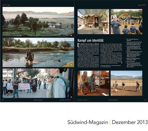 Südwind Magazin Mapuche