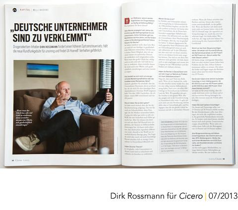 Cicero Dirk Rossmann