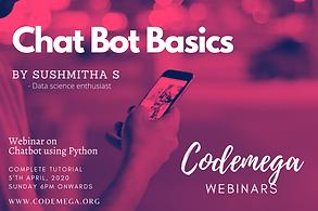 Webinar on ChatBot Basics