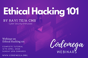 Webinar on Ethical Hacking 101