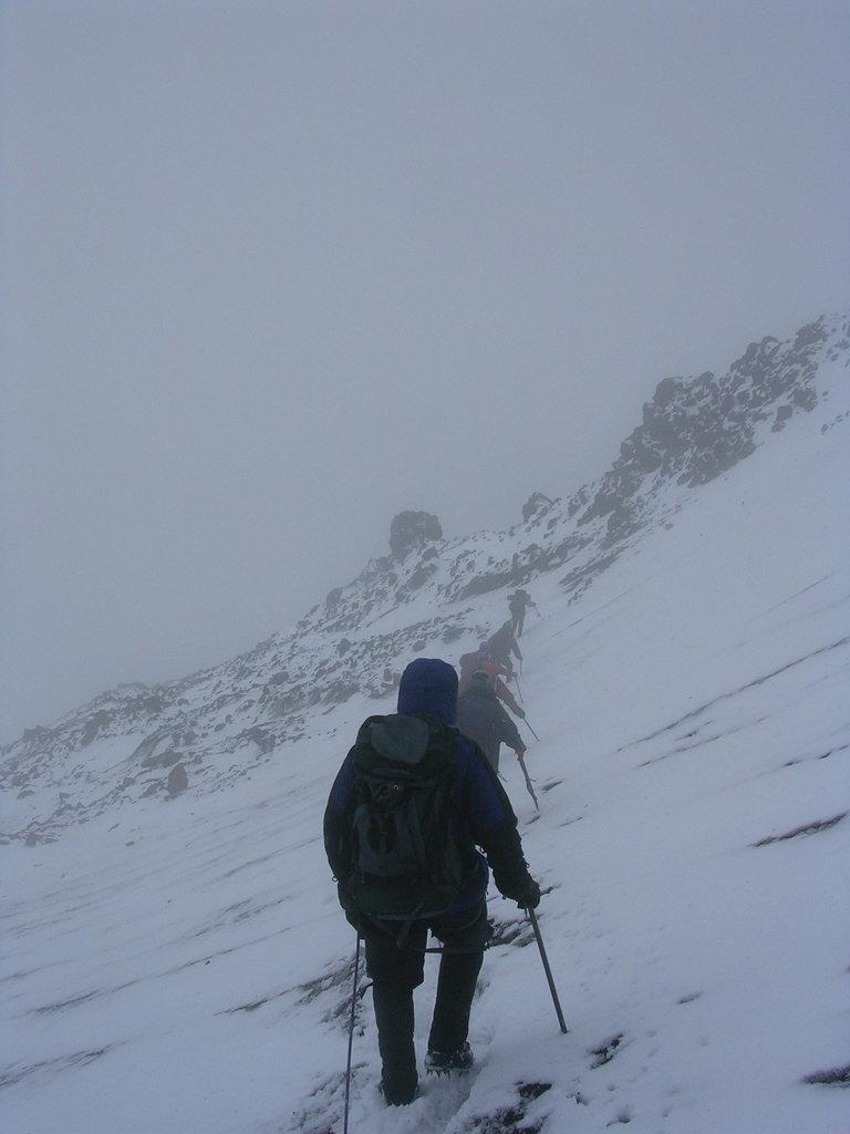 Descending Rainier
