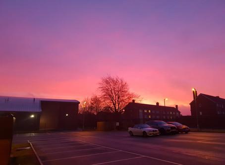 Midpoint at Dawn