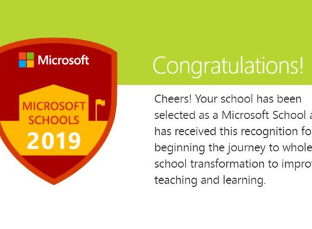 Lawnswood Campus is now officially a Microsoft School