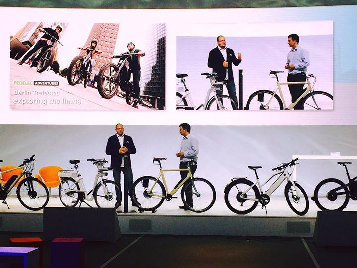 Sascha Nachtnebel auf der New Mobility World IAA FRankfurt