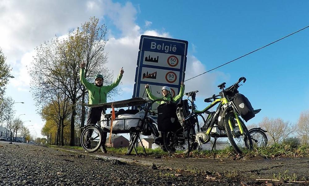 Belgium to Paris - E-Bike Africa