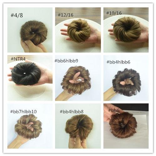 גומית שיער טבעי