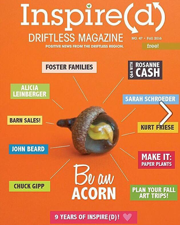 Magick Acorns on the Cover!
