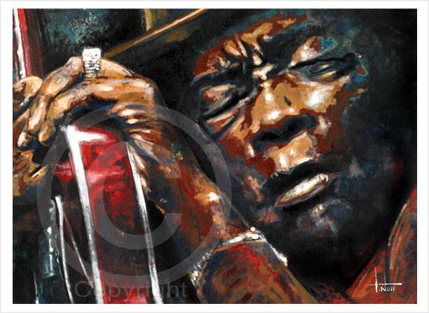 John Lee Hooker by Tom Noll www.tomnoll.com