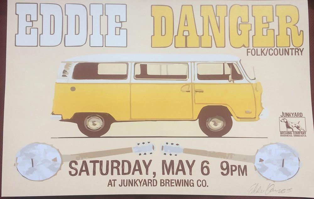 Eddie Dangers Last Tour Poster