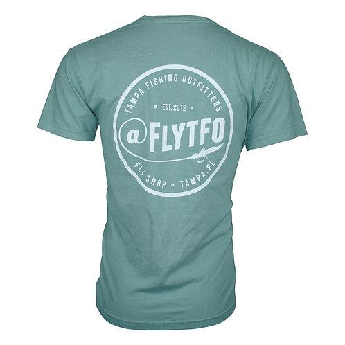 Fly TFO T-Shirt Pastel Green Pocket Tee
