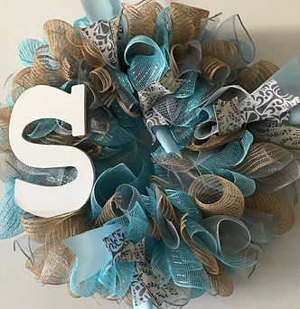 Mesh blue and beige with letter S.jpg