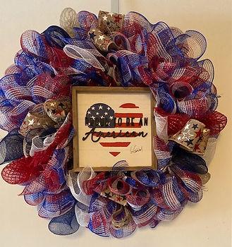 mesh patriotic Proud to be an american 2