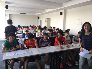 English Development Camp for the Chinese National Team Comes to a Successful Close