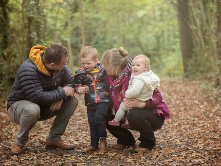Together we make a family- The Trotman's,                              N.Wales Autumn Shoot.