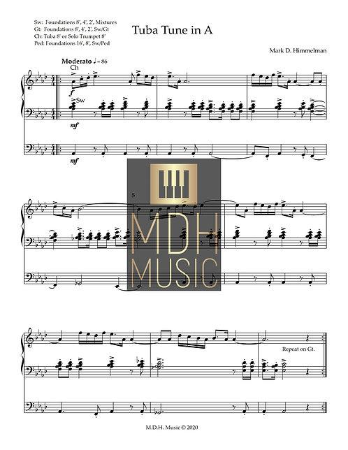 Tuba Tune in A-flat Major