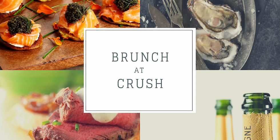 Brunch at CRUSH (12pm Seating Only)