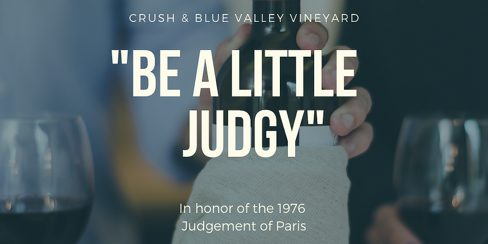 Competitive Pairing & Small Bites with CRUSH and Blue Valley Vineyard